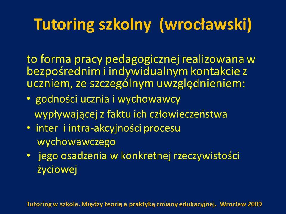 Tutoring szkolny (wrocławski)