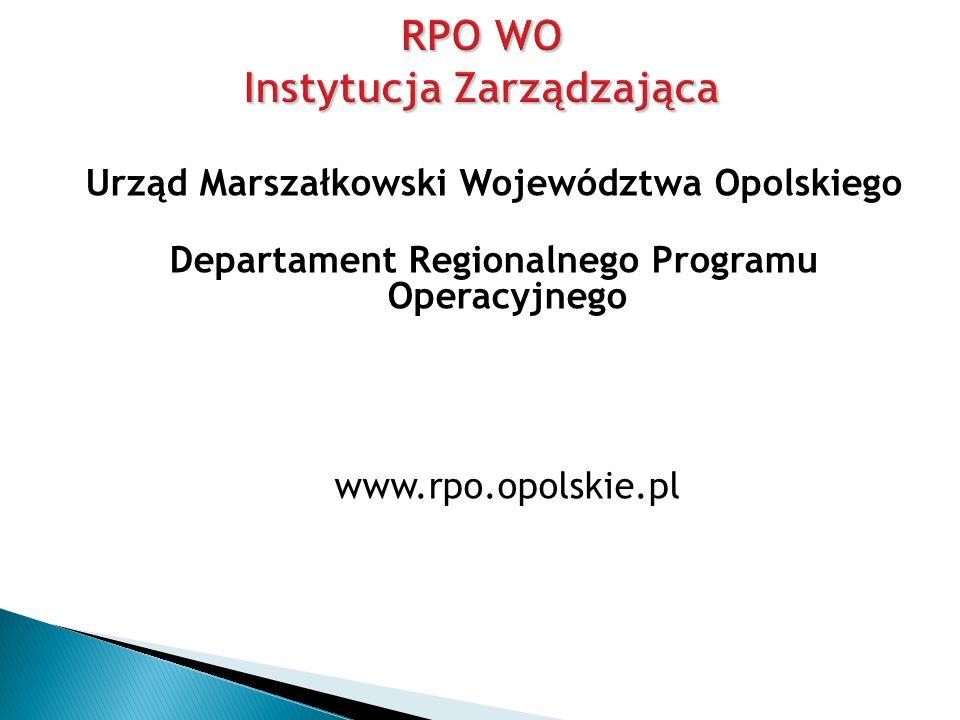 RPO WO Instytucja Zarządzająca