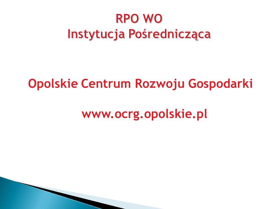 RPO WO Instytucja Pośrednicząca