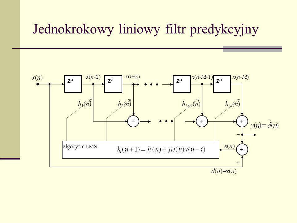 Jednokrokowy liniowy filtr predykcyjny