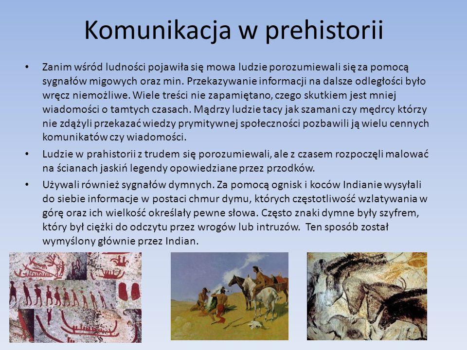 Komunikacja w prehistorii