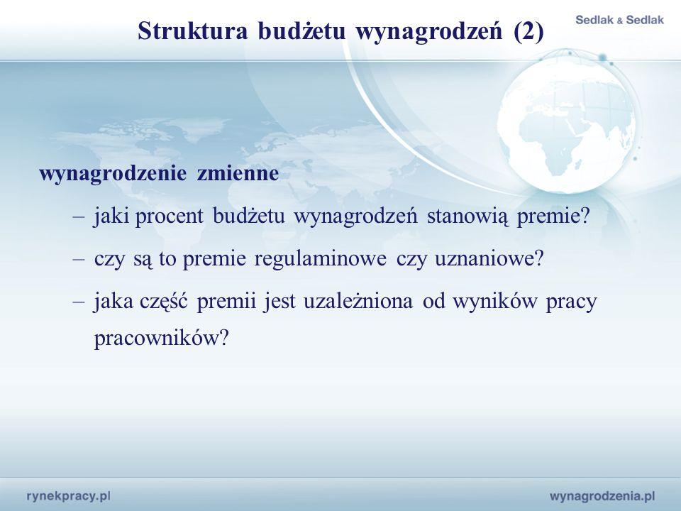 Struktura budżetu wynagrodzeń (2)