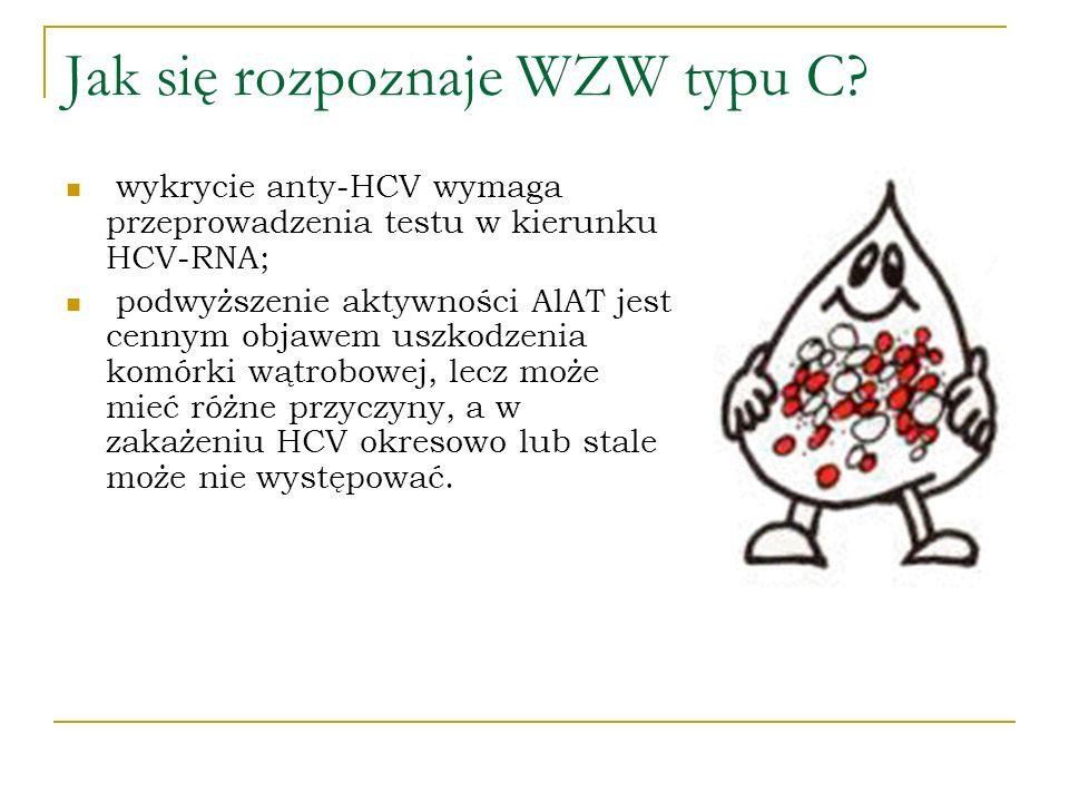 Jak się rozpoznaje WZW typu C