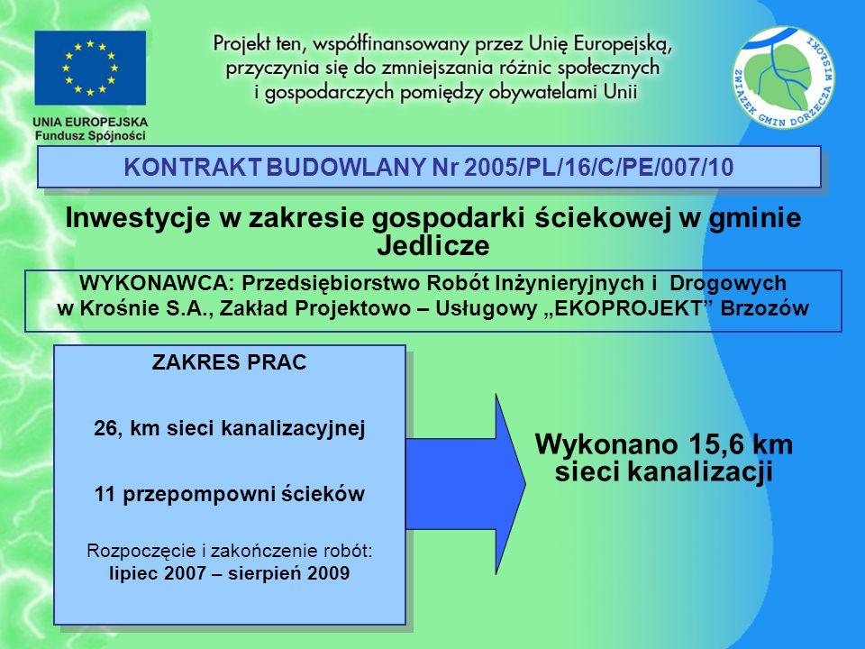 KONTRAKT BUDOWLANY Nr 2005/PL/16/C/PE/007/10