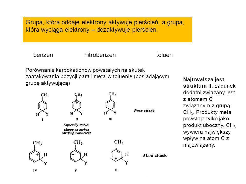 benzen nitrobenzen toluen