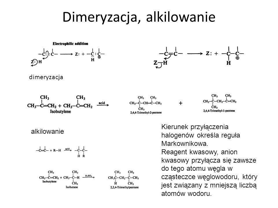 Dimeryzacja, alkilowanie