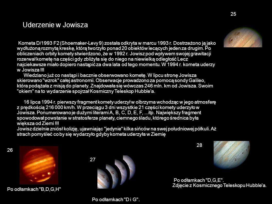 25 Uderzenie w Jowisza.