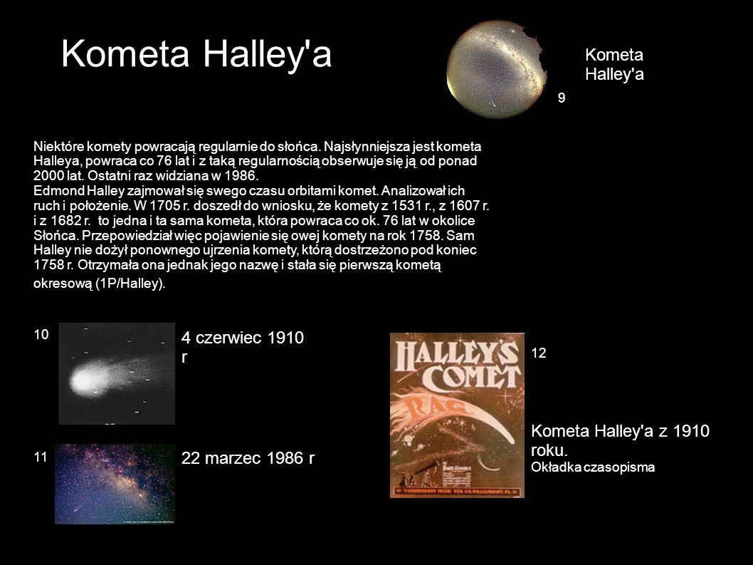 Kometa Halley a Kometa Halley a 4 czerwiec 1910 r