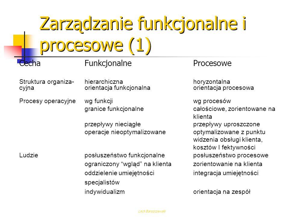 Zarządzanie funkcjonalne i procesowe (1)