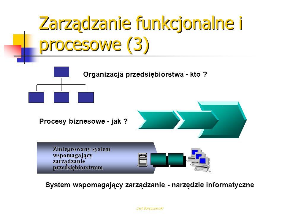 Zarządzanie funkcjonalne i procesowe (3)