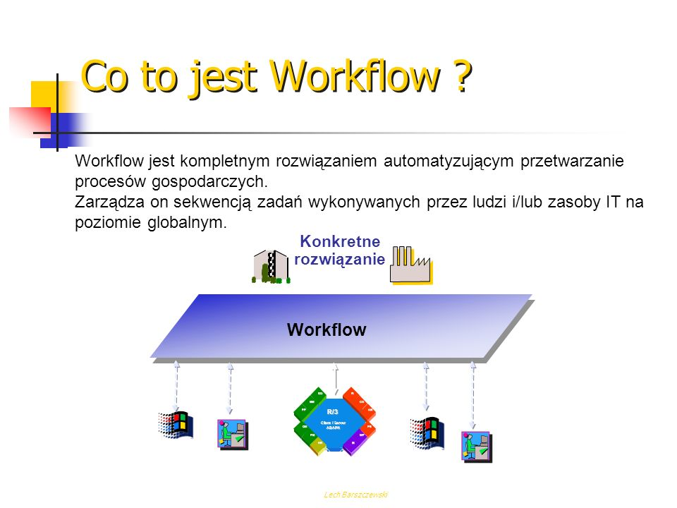 Co to jest Workflow Workflow