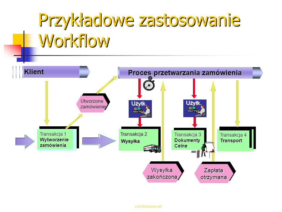 Przykładowe zastosowanie Workflow