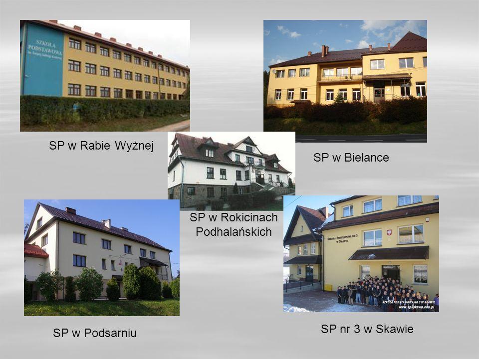 SP w Rokicinach Podhalańskich