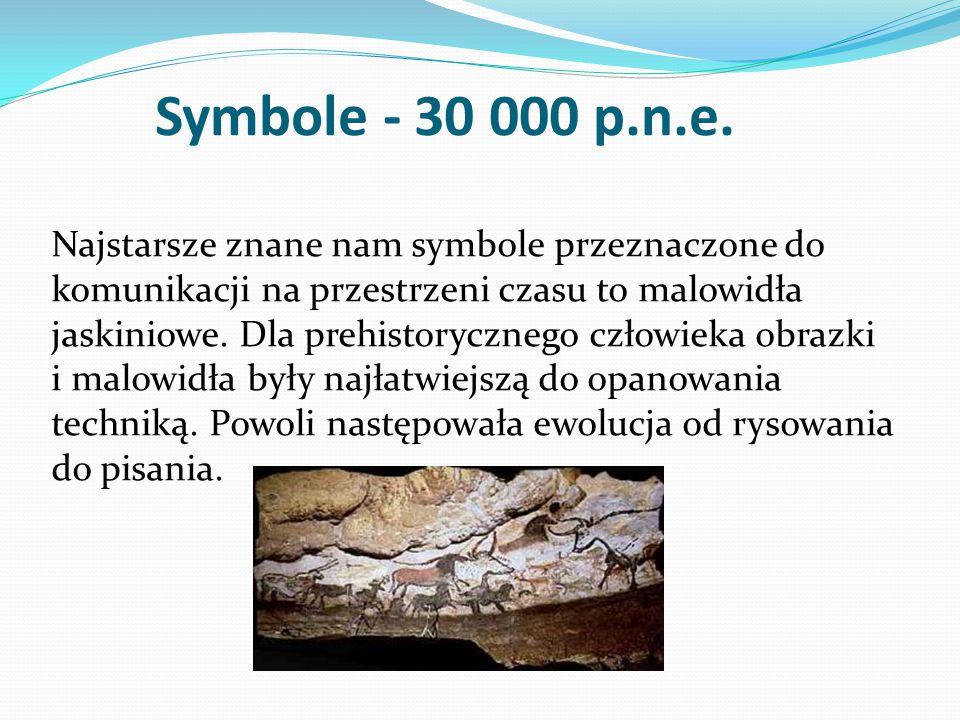 Symbole - 30 000 p.n.e.