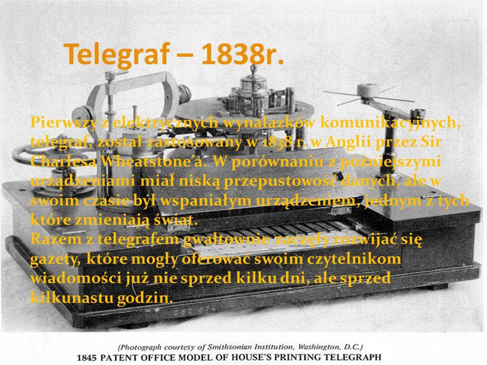 Telegraf – 1838r.