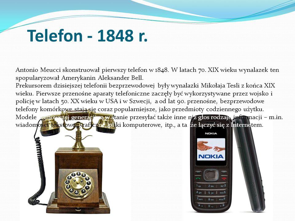 Telefon - 1848 r.