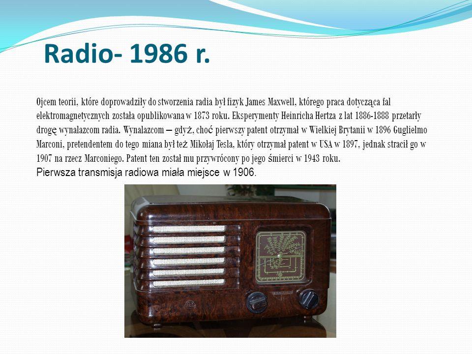 Radio- 1986 r.