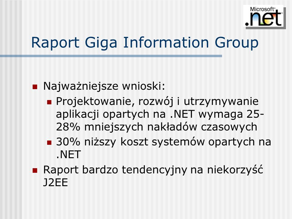 Raport Giga Information Group
