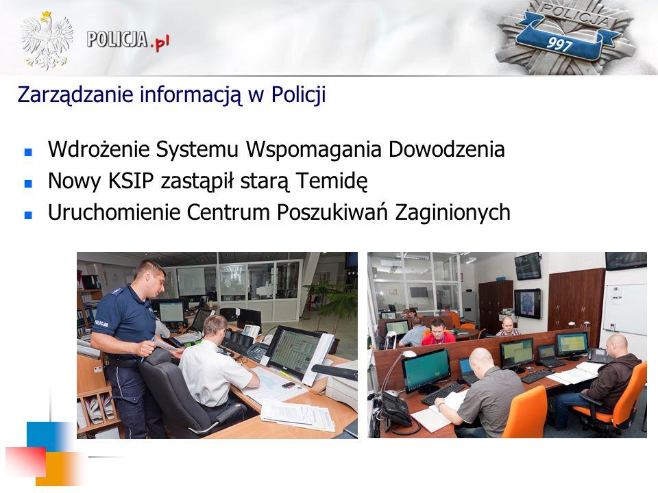 Zarządzanie informacją w Policji