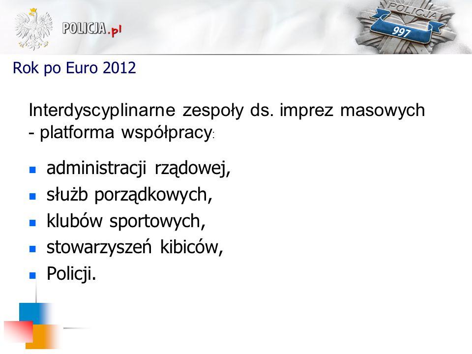 Interdyscyplinarne zespoły ds. imprez masowych - platforma współpracy: