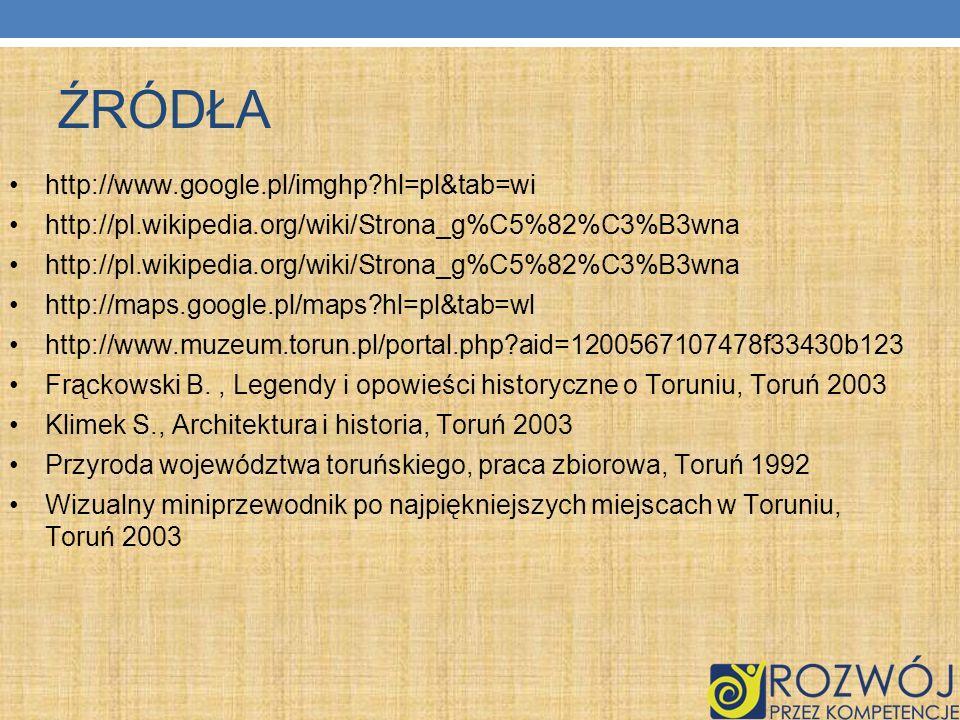 ŹRÓDŁA http://www.google.pl/imghp hl=pl&tab=wi