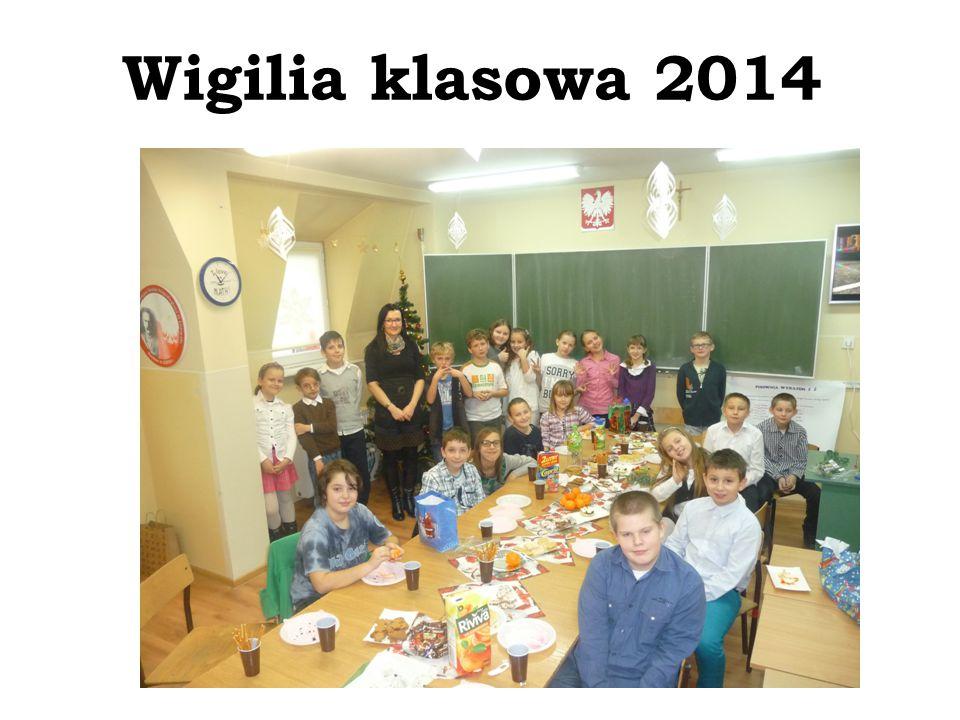 Wigilia klasowa 2014