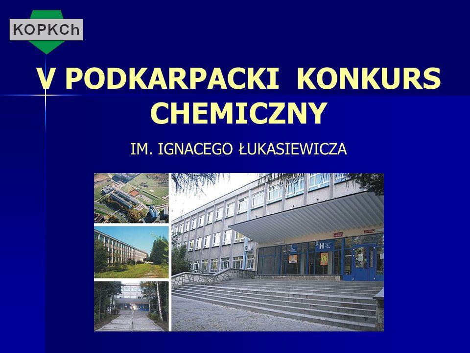 V PODKARPACKI KONKURS CHEMICZNY