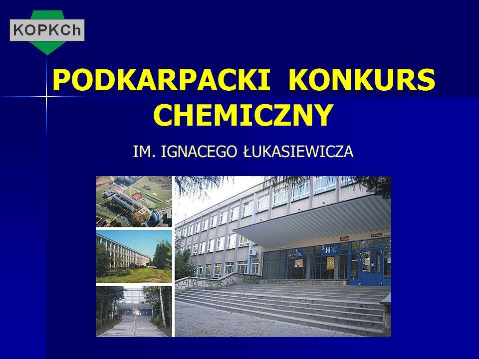 PODKARPACKI KONKURS CHEMICZNY