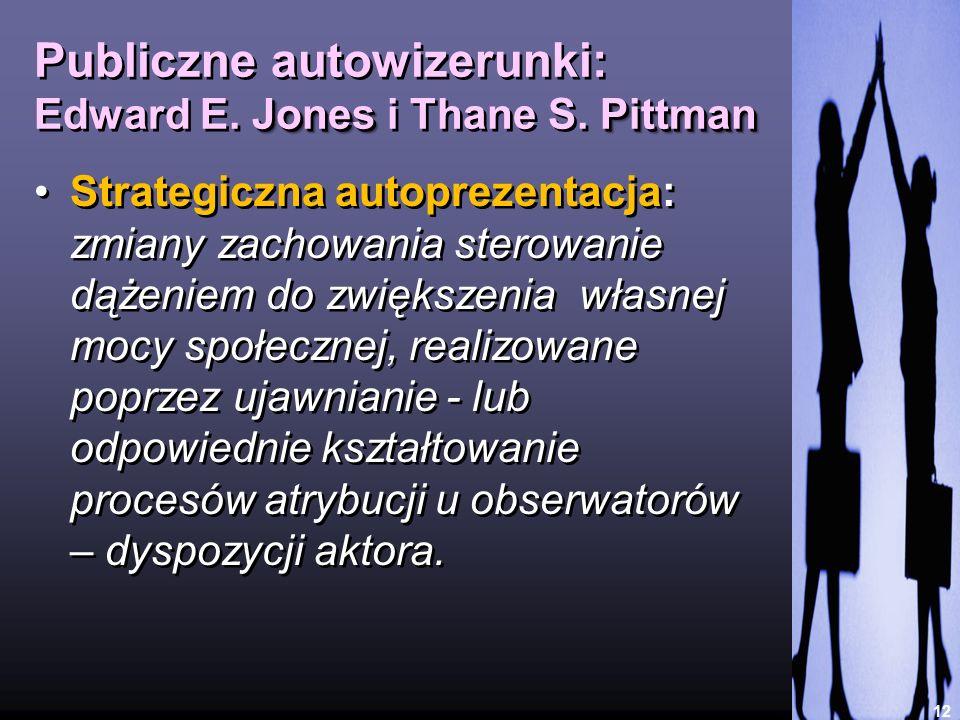 Publiczne autowizerunki: Edward E. Jones i Thane S. Pittman