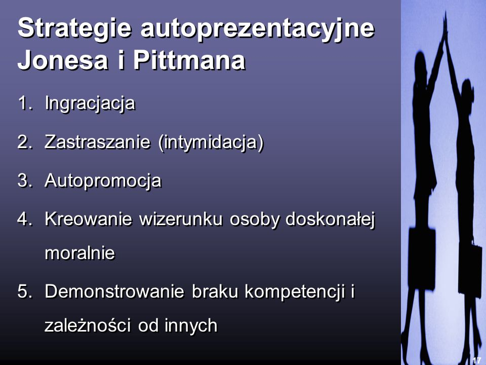 Strategie autoprezentacyjne Jonesa i Pittmana