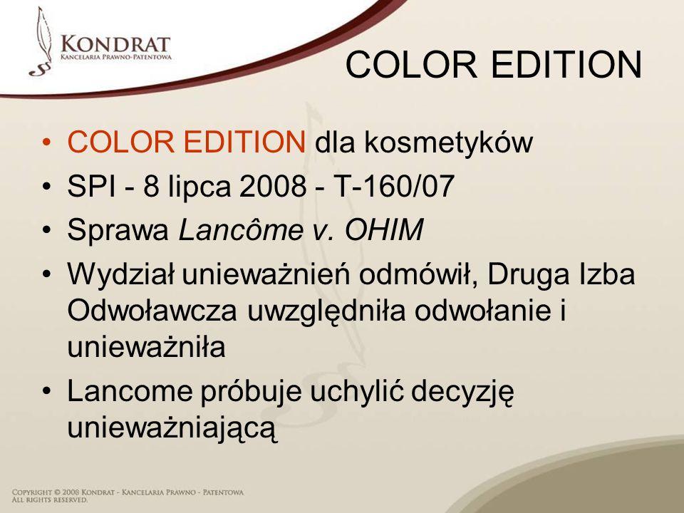 COLOR EDITION COLOR EDITION dla kosmetyków