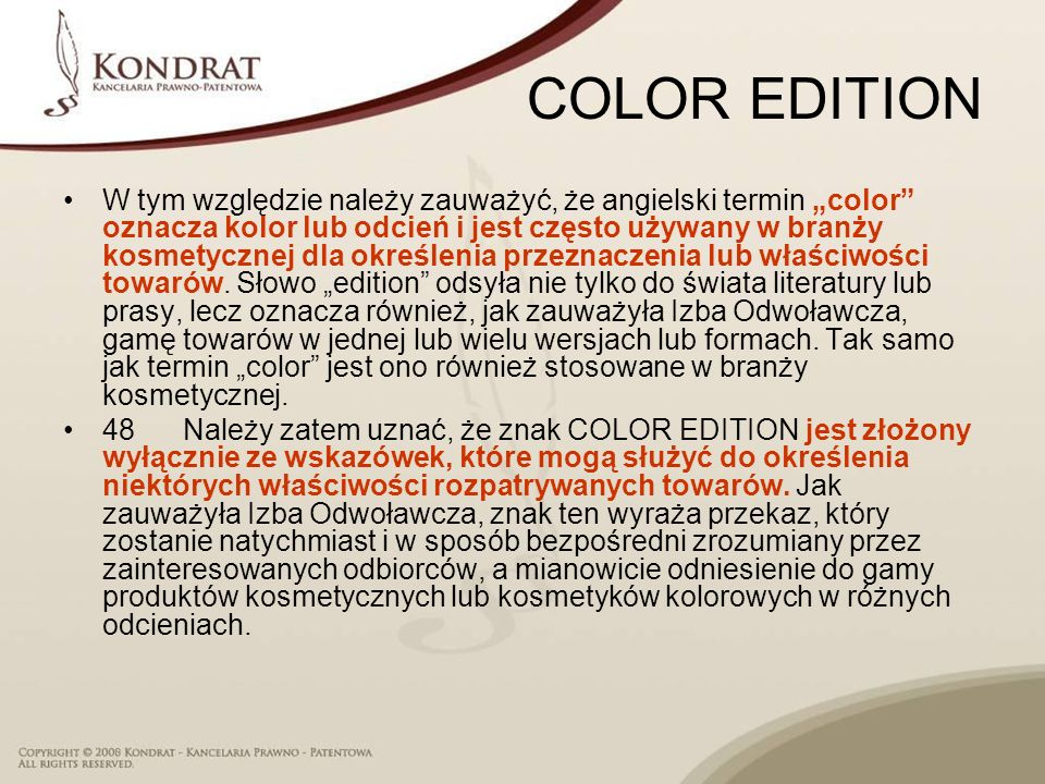 COLOR EDITION