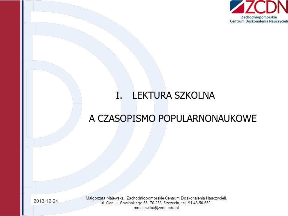 A CZASOPISMO POPULARNONAUKOWE