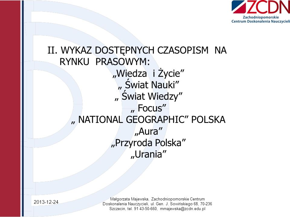 """ NATIONAL GEOGRAPHIC POLSKA"