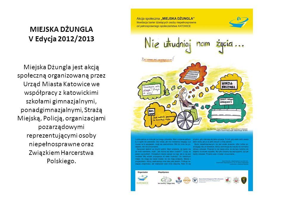 MIEJSKA DŻUNGLA V Edycja 2012/2013