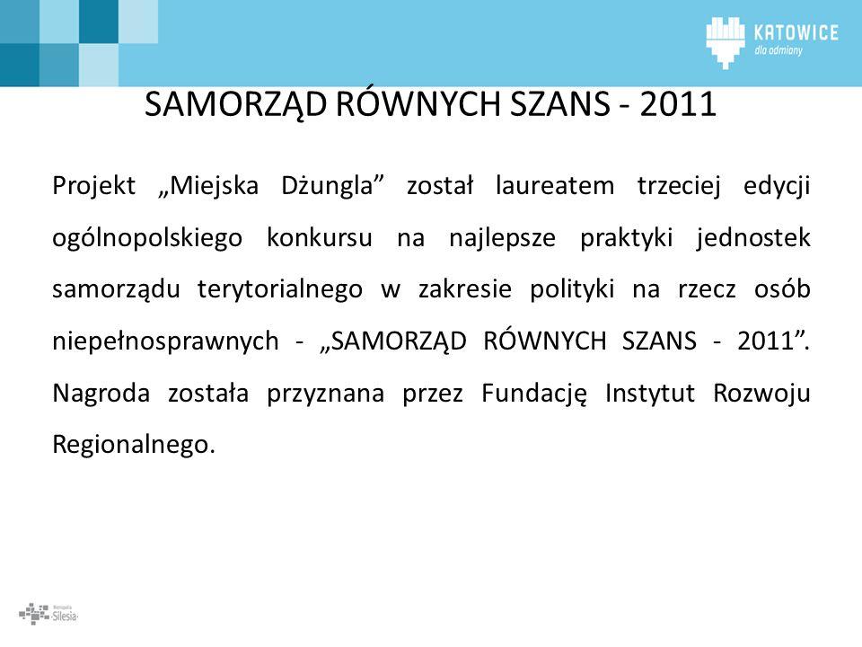SAMORZĄD RÓWNYCH SZANS - 2011