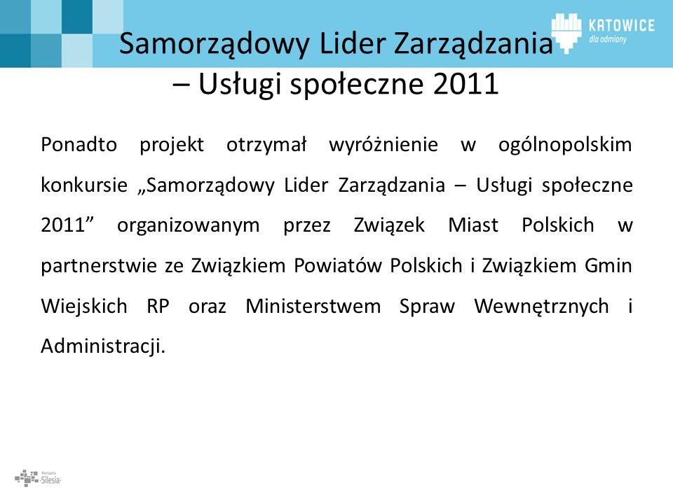 Samorządowy Lider Zarządzania – Usługi społeczne 2011