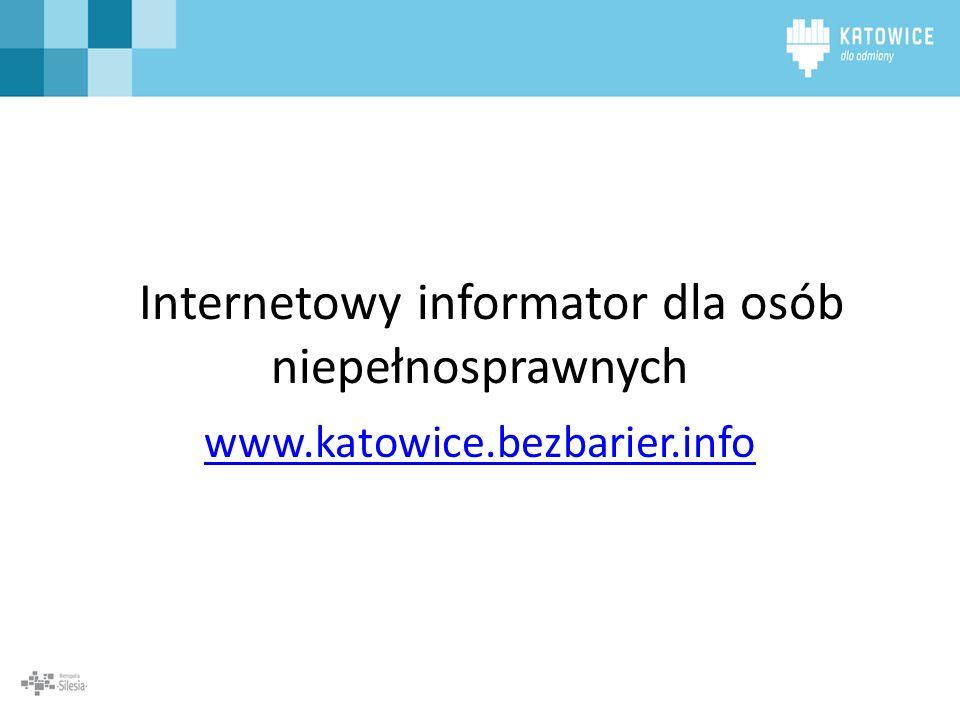Internetowy informator dla osób niepełnosprawnych