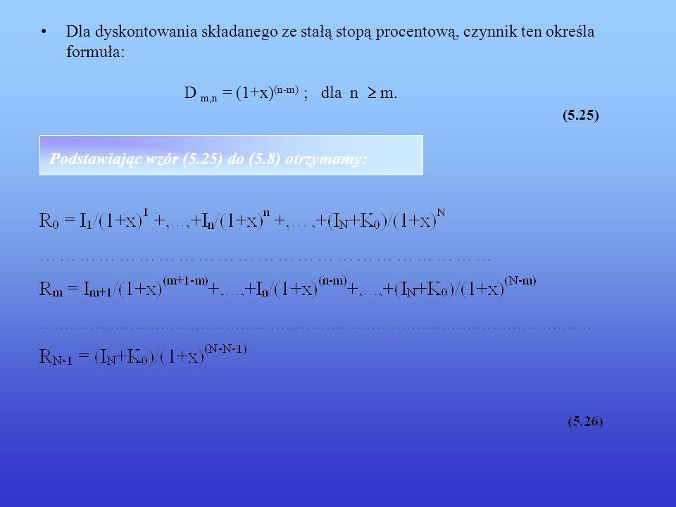 Podstawiając wzór (5.25) do (5.8) otrzymamy: