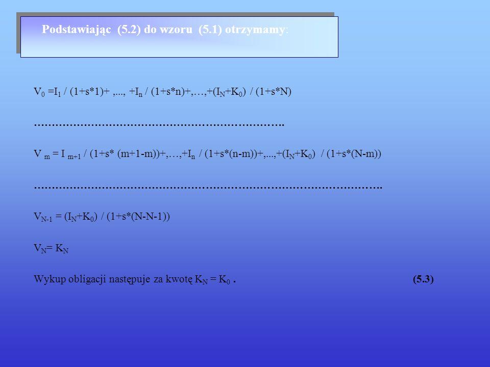 Podstawiając (5.2) do wzoru (5.1) otrzymamy: