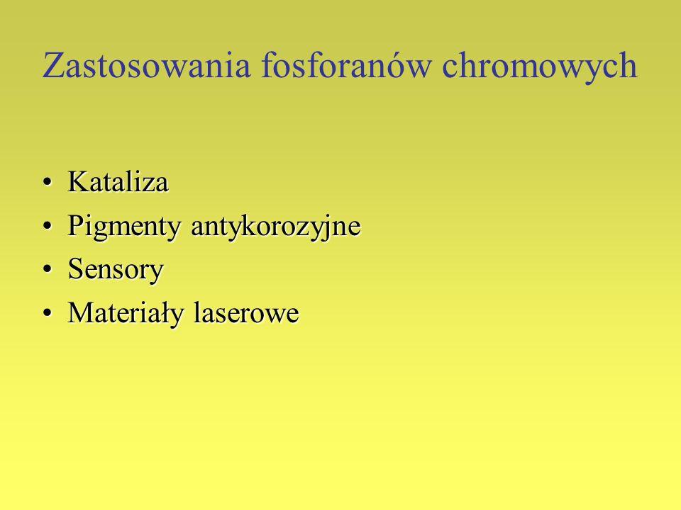Zastosowania fosforanów chromowych