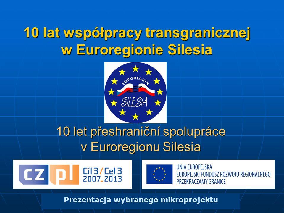 10 lat współpracy transgranicznej w Euroregionie Silesia