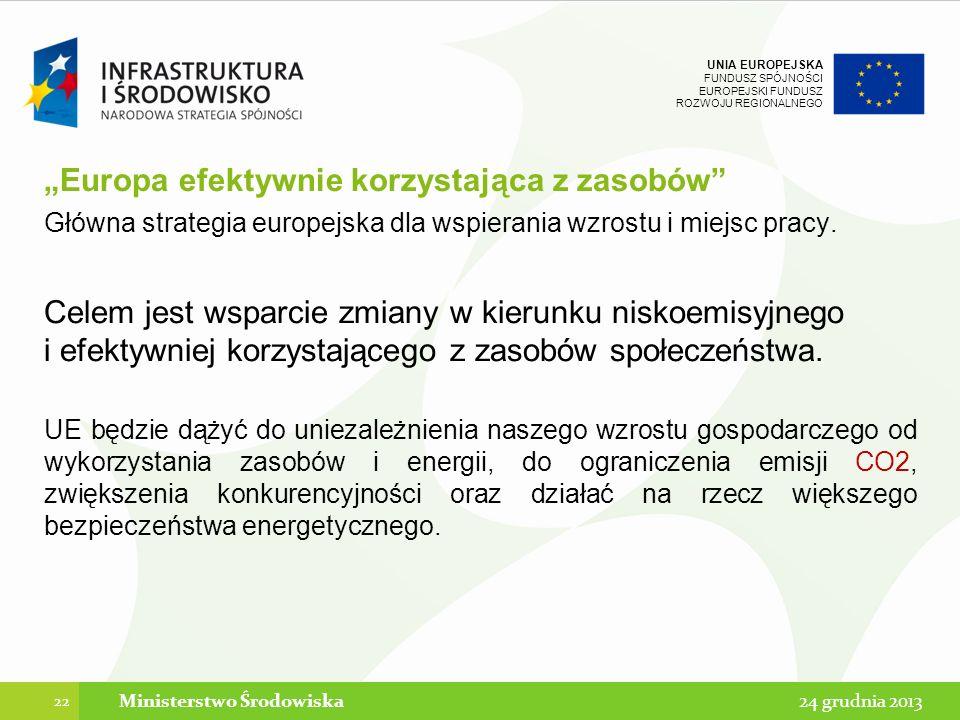 """""""Europa efektywnie korzystająca z zasobów"""