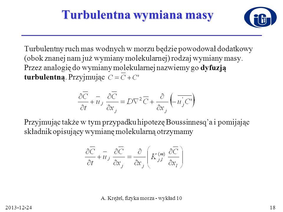 Turbulentna wymiana masy