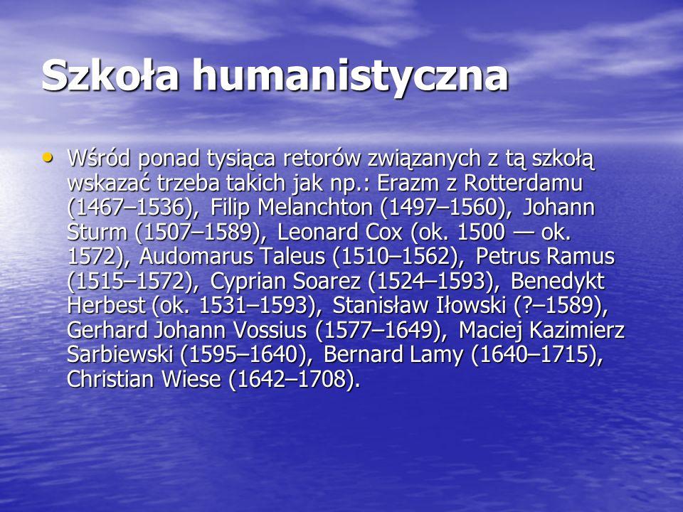 Szkoła humanistyczna