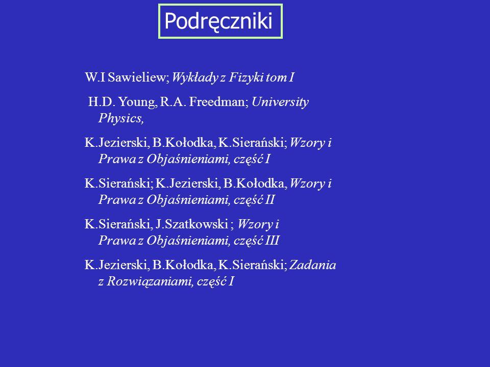 Podręczniki W.I Sawieliew; Wykłady z Fizyki tom I