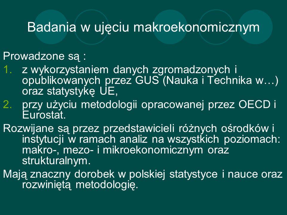 Badania w ujęciu makroekonomicznym