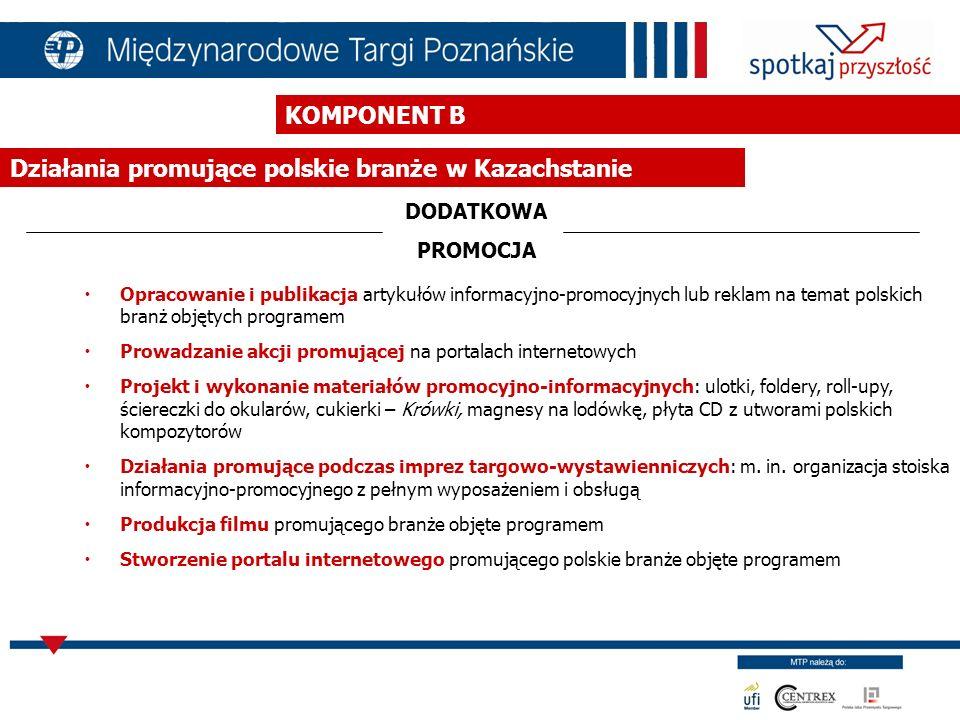 Działania promujące polskie branże w Kazachstanie