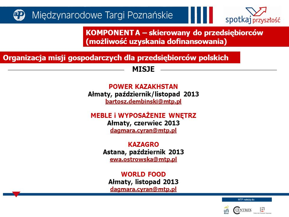 Organizacja misji gospodarczych dla przedsiębiorców polskich