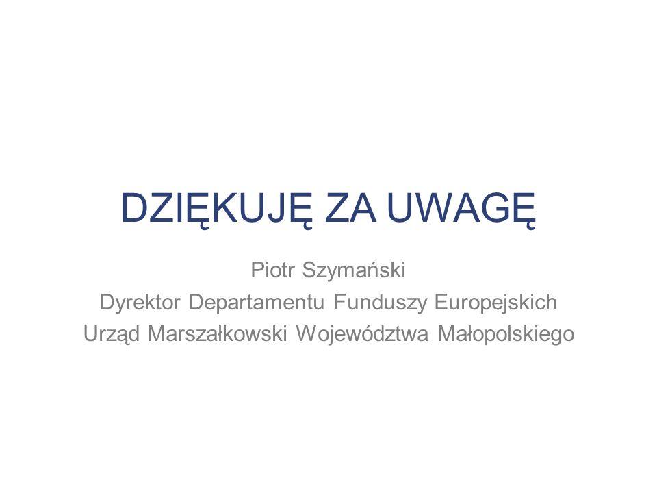 Dyrektor Departamentu Funduszy Europejskich